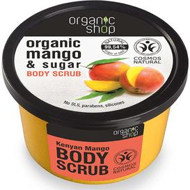Organic Shop Scrub do ciała - Kenijskie mango, 250ml