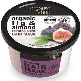 Organic Shop Maska do włosów - Grecka Figa i Migdał, 250ml