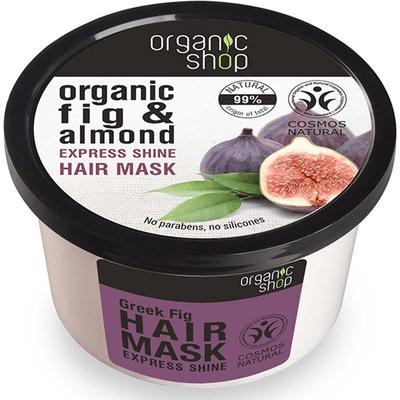 Maska do włosów - Grecka Figa i Migdał Organic Shop