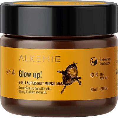 Peeling-maska z superowocami - Glow up Alkmie