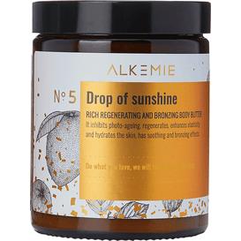 Alkmie Bogate masło regenerująco-brązujące do ciała - Drop of sunshine, 180 ml