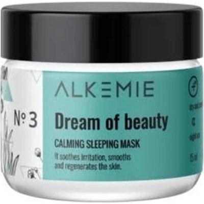 Wyciszająca nocna maska-krem - Dream of beauty Alkmie