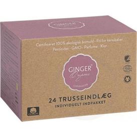 Ginger Organic Wkładki higieniczne 24 sztuki, 24 szt.