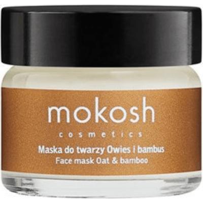 Liftingująca maska do twarzy - Owies i bambus Mokosh