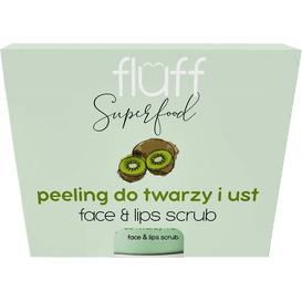 Fluff Peeling do twarzy i ust - Kiwi, 80 g