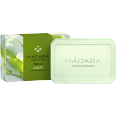 Brzoza i Algi - Balansujące mydło do mycia twarzy Madara