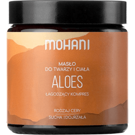 Mohani Masło aloesowe, 120 ml