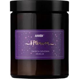 Anwen Sojowa świeca zapachowa - Akacja, 180 ml