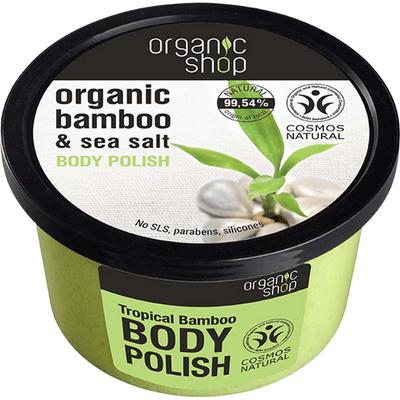 Scrub do ciała - Tropikalny bambus Organic Shop