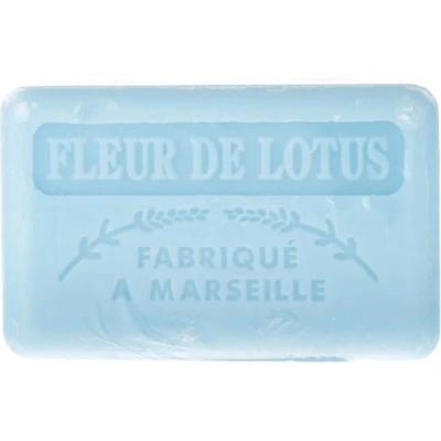Mydło marsylskie z masłem shea - Kwiat lotosu Foufour