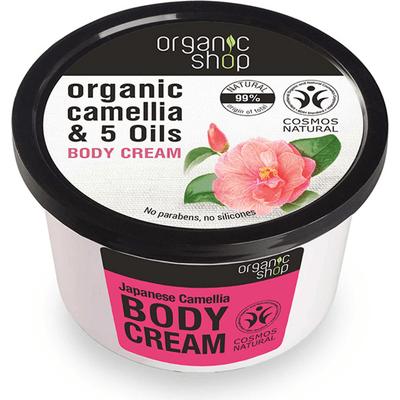 Mus do ciała - Japońska kamelia i 5 olejków Organic Shop