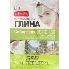 Fitocosmetic Zielona glinka syberyjska - odżywcza, 75 g