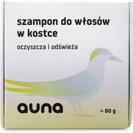 Auna Szampon w kostce ze spiruliną, 80 g