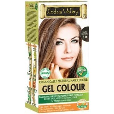 Żelowa farba do włosów - Ciemny blond Indus Valley