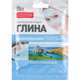 Fitocosmetic Błękitna glinka bajkalska - odmładzająca z efektem liftingu, 75 g