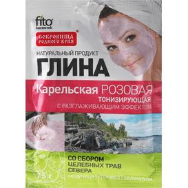 Fitocosmetic Różowa glinka karelska - tonizująca, 75 g