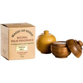 Shamasa Naturalne perfumy w kremie - Honey Suckle, 6 g