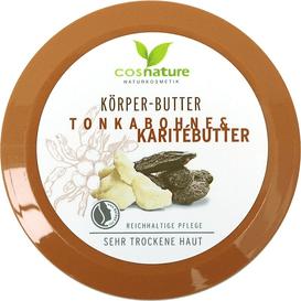 Cosnature Naturalne odżywcze masło do ciała z masłem shea i tonką, 200 ml