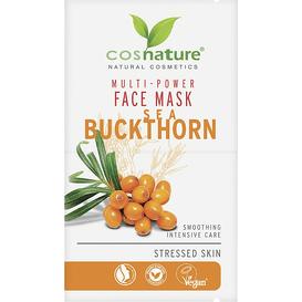Cosnature Naturalna multi-odżywcza maska do twarzy z rokitnikiem, 2 szt.