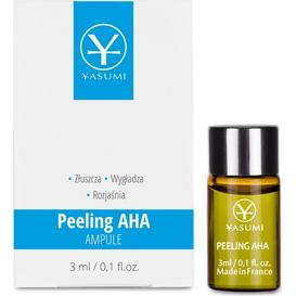 Yasumi Peeling AHA - Ampułka z kwasem glikolowym, 3 ml