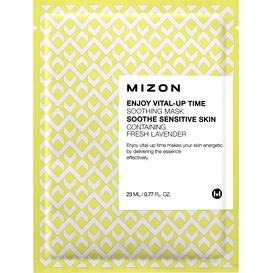 Mizon Enjoy Vital-Up Time Soothing Mask - Wygładzająca maska z lawendą, 23 ml