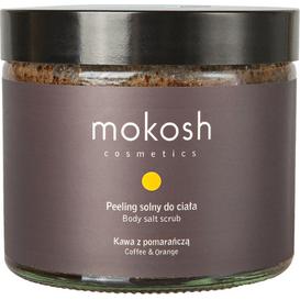 Mokosh Peeling solny do ciała - Kawa z pomarańczą, 250 ml