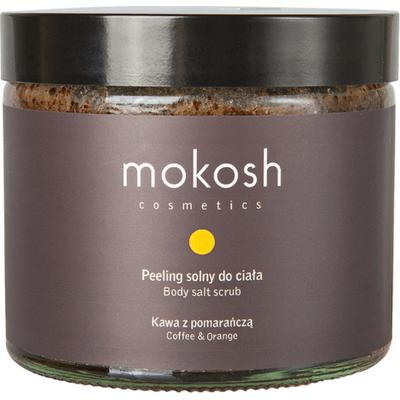 Peeling solny do ciała - Kawa z pomarańczą Mokosh