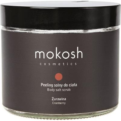 Peeling solny do ciała - Żurawina Mokosh
