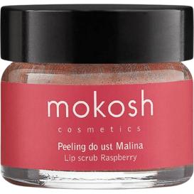 Mokosh Peeling do ust - Malina, 15 ml