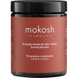 Mokosh Brązujący balsam do ciała i twarzy - Pomarańcza z cynamonem, 180 ml