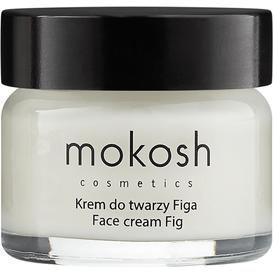 Mokosh Wygładzający krem do twarzy - Figa, 15 ml