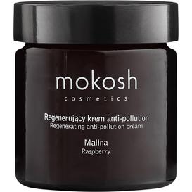 Mokosh Regenerujący krem do twarzy anti-pollution - Malina, 60 ml