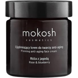 Mokosh Ujędrniający krem do twarzy anti-aging - Róża z jagodą, 60 ml