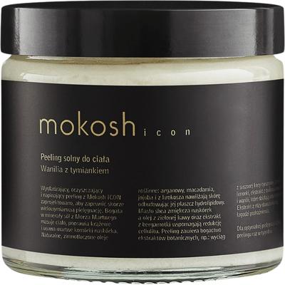 Peeling solny Icon - Wanilia z tymiankiem Mokosh