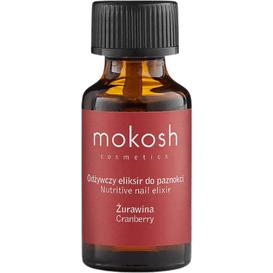 Mokosh Odżywczy eliksir do paznokci - Żurawina, 10 ml