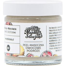 Mydłostacja Peel-maseczka do twarzy - Owocowe podróże, 60 g