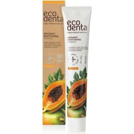 Ecodenta Papaya - Wybielająca pasta do zębów z esktraktem z papai - Cosmos Organic, 75 ml