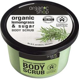 Organic Shop Scrub do ciała - Trawa Cytrynowa, 250 ml