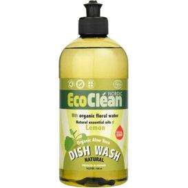 Eco Clean Cytrynowy płyn do mycia naczyń, 500 ml