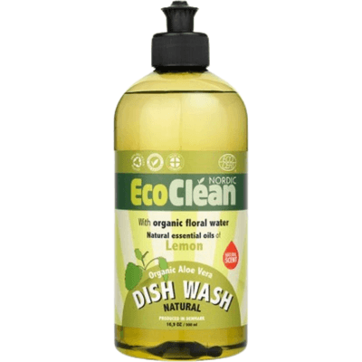 Cytrynowy płyn do mycia naczyń Eco Clean
