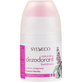 Sylveco Naturalny dezodorant - kwiatowy, 50 ml