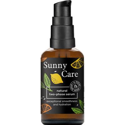 Naturalne serum dwufazowe rozświetlające - Sunny Care E-FIORE