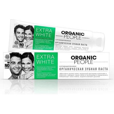 Pasta do zębów - Extra White Organic People
