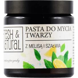 Fresh&Natural Pasta do mycia twarzy, 100 ml
