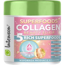 Intenson Antyoksydacyjny koktajl kolagenowy - Collagen Beauty Elixir, 165g