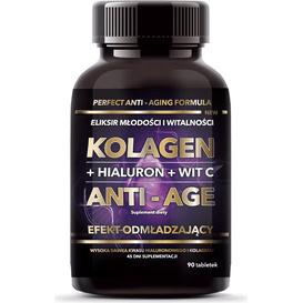 Intenson Kolagen Anti-age 500 mg - suplement diety, 90 szt.