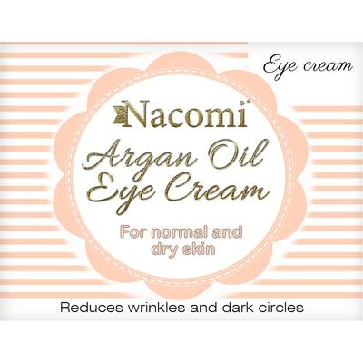 Naturalny krem pod oczy arganowy Nacomi