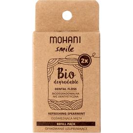 Mohani Biodegradowalna nić dentystyczna Mohani Smile - miętowa - uzupełnienie, 1 szt.