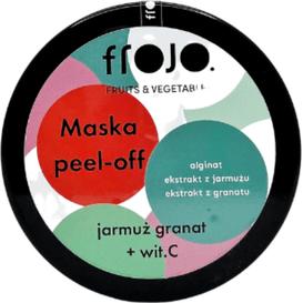 Frojo Maska peel-off do twarzy - Jarmuż-granat, 50 ml