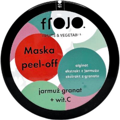 Maska peel-off do twarzy - Jarmuż-granat Frojo